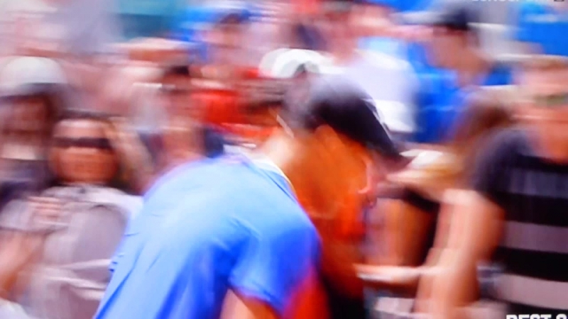Страсти,накал нервов большого тенниса 2017... vipstarssport