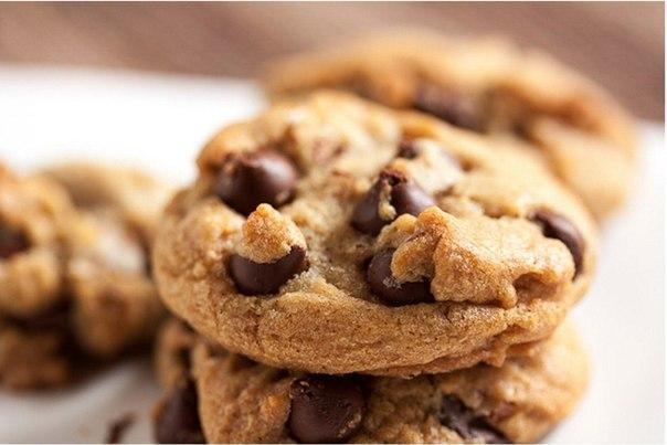 американское печенье с шоколадом рецепт вк