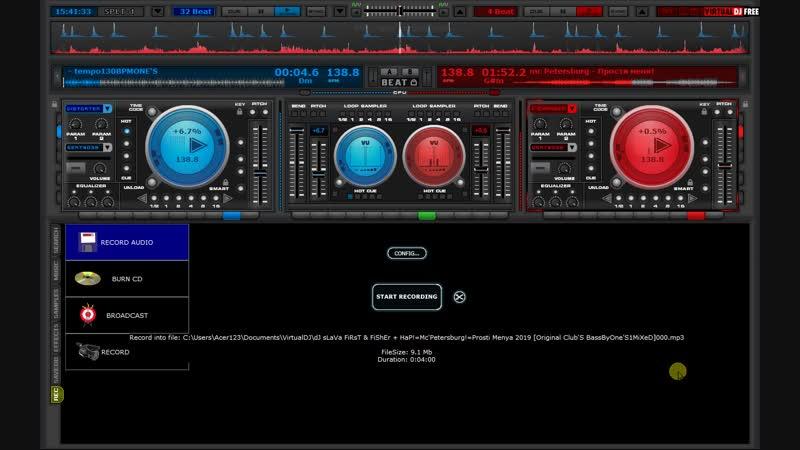 DJ sLaVa FiRsT FiShEr HaP!=McPetersburg!=Prosti Menya 2019 [Original ClubS BassByOneS1MiXeD]ice_video_20190119-153859