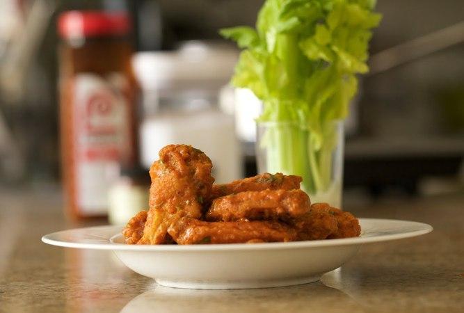 Buffalo Chicken Wings | Byron Talbott