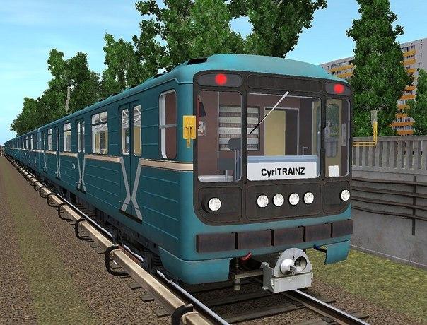 Trainz simulator 2012 метро москвы старт и начало 001012 (v) 4. Московское