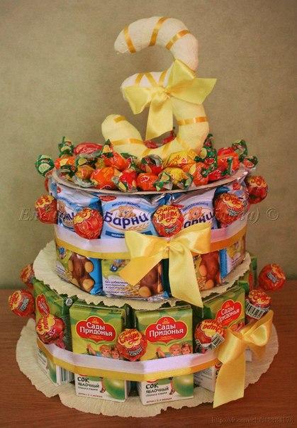 Тортик в детский сад на день рождения