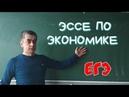 Как писать эссе по обществознанию Экономика ЕГЭ Задание 29