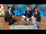 Tom Hiddleston on the Morning Show 08/10/2013