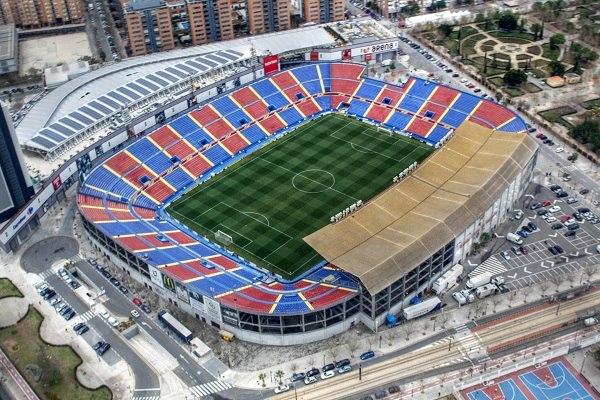 Стадион: «Сьюдад де Валенсия»