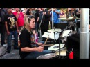 Nicko McBrain from Iron Maiden - Voodoo Child (awesome drum solo) Live 12-12-2010