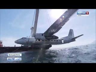Подводный музей Крыма: на дно Черного моря опустили самолет АН-24
