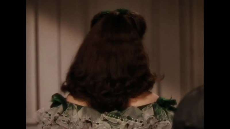 Знакомство Ретта и Скарлетт в библиотеке (Унесенные ветром)