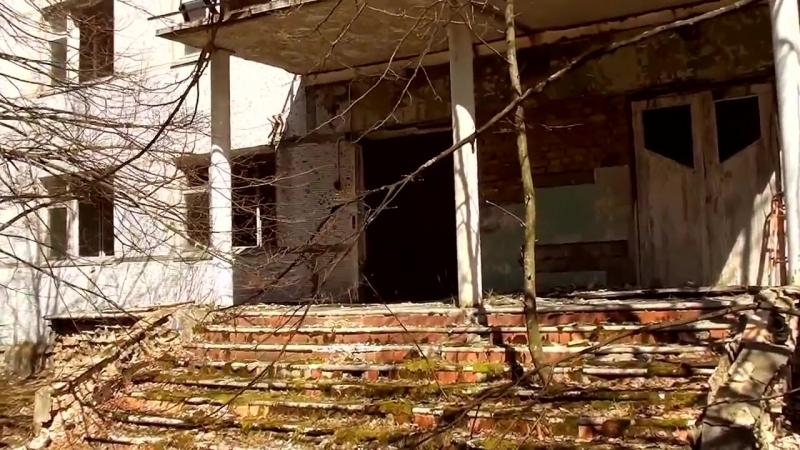 Путешествие по Припяти. Часть 2. Центр. - Trip in Pripyat. Part 2. Center.