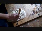 Деревянная маска, резьба по дереву