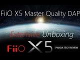 FiiO X5 High Res DAP Unboxing