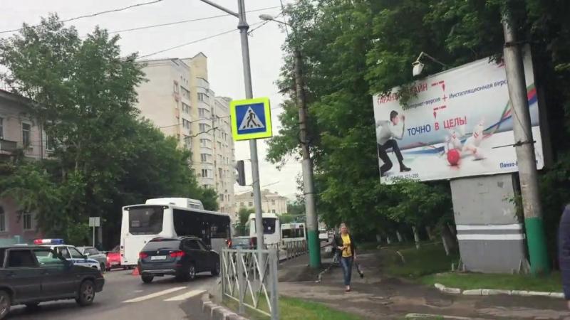 Авария Калинина/Свердлова, Пенза