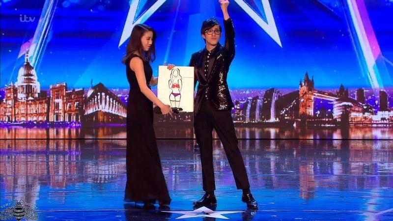 Britains Got Talent 2018 Sora Shock Magician Full Audition S12E06