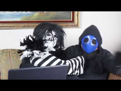 Bohemian Rhapsody Acapella Cover by Eyeless Jack Creepypasta Cosplay