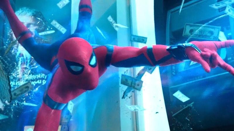 Человек паук против Мстителей Человек паук Возвращение домой 2017