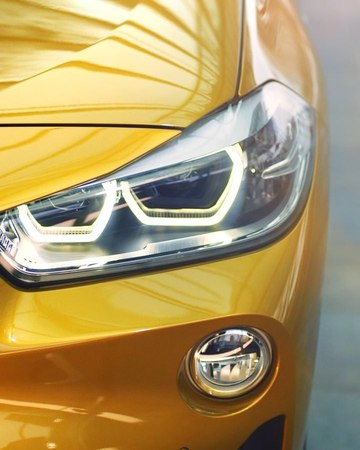 """BMW on Instagram: """"A real star rolls out in gold. Be the one who dares. The first-ever BMW X2."""""""