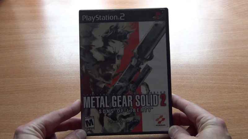 Metal Gear Solid 2 Sons of Liberty Playstation 2 NTSC