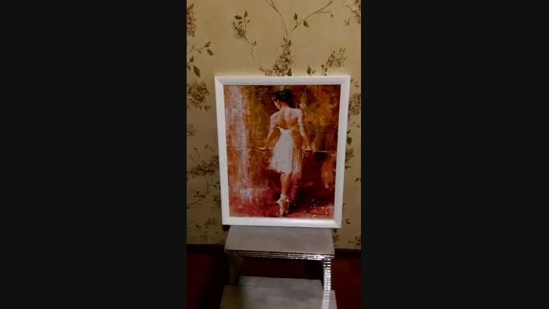Алмазная мозаика Балерина