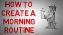 The Miracle Morning by Hal Elrod animated book summary - How to Create a Morning Routine