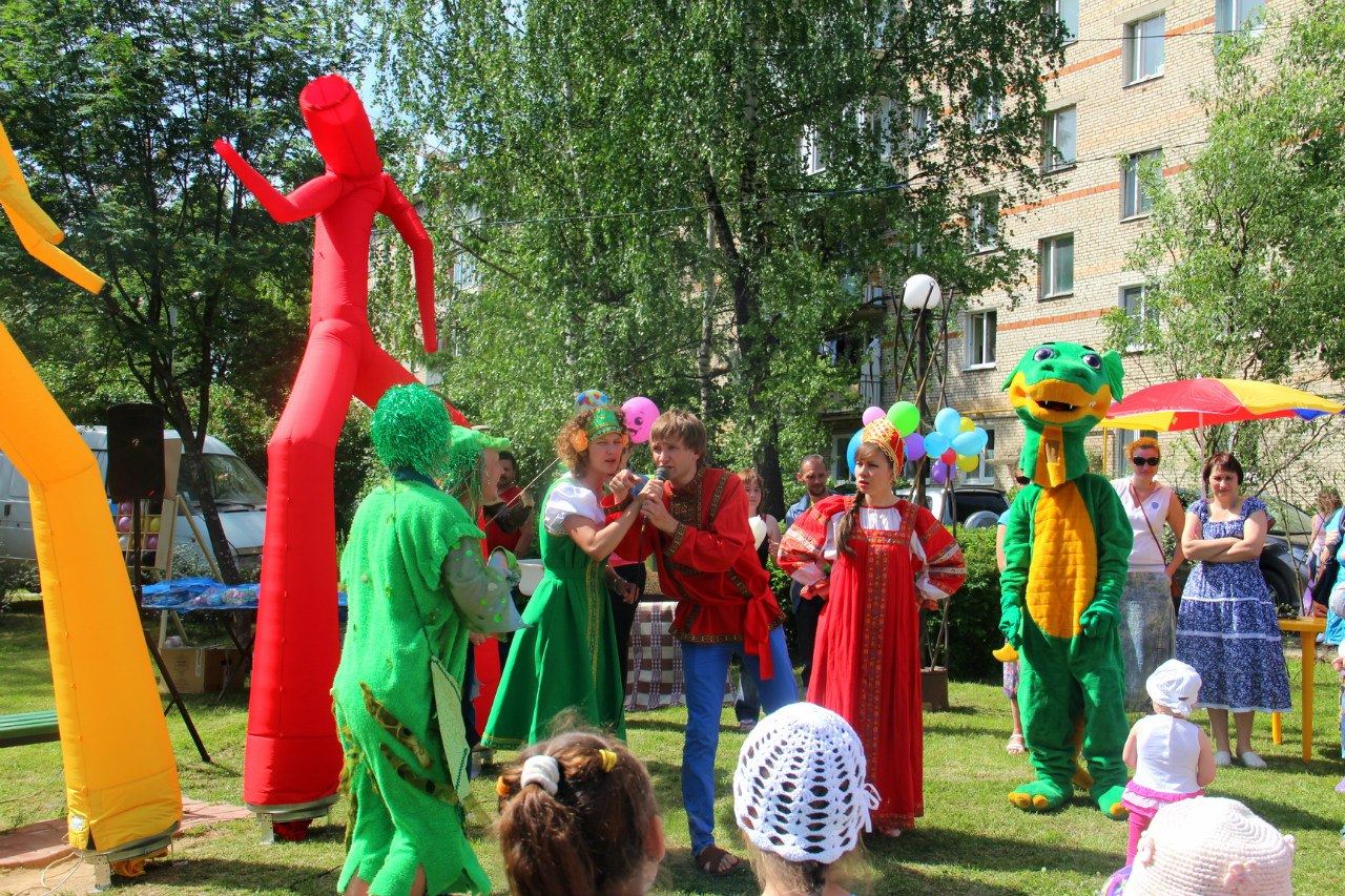 День защиты детей в Зеленоградском