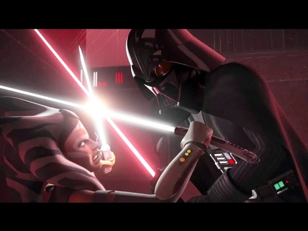 Ahsoka Tano Against Darth Vader [1080p]