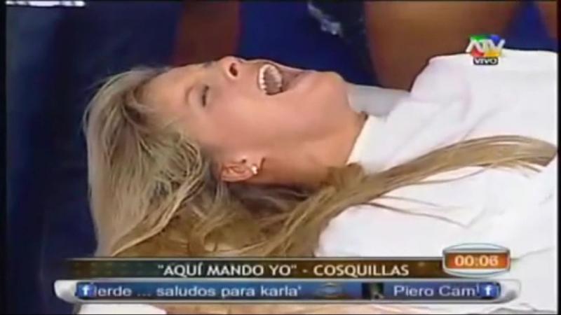 Alejandra Baigorria tickle feet