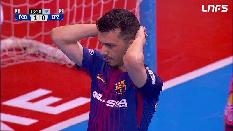 Чемпионат Испании FC Barcelona Lassa ElPozo Murcia Полуфинал плей офф 1 матч