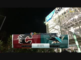 NHL 2018-2019 / RS / 11.11.2018 / Calgary Flames vs San Jose Sharks