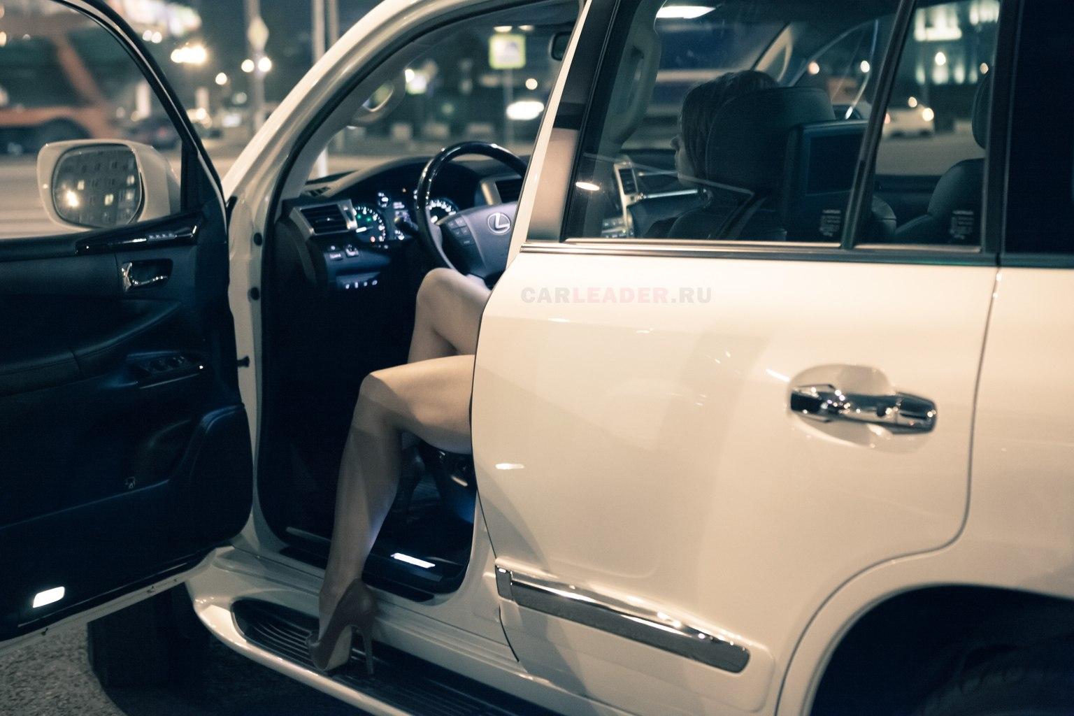 Белый перламутр Lexus LX 570 2012