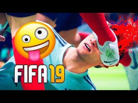 GAME FAILS   Best FIFA 19 FAILS ● Glitches, Goals, Skills, Funny Moments ●