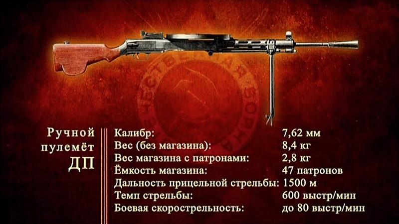 Д/ф «Оружие Победы» - Ручной пулемет ДП