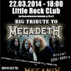 22/03/2014 - Big Tribute to MEGADETH