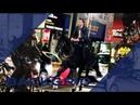 Keanu Reeves doing his own horseback stunts for JOHN WICK 3