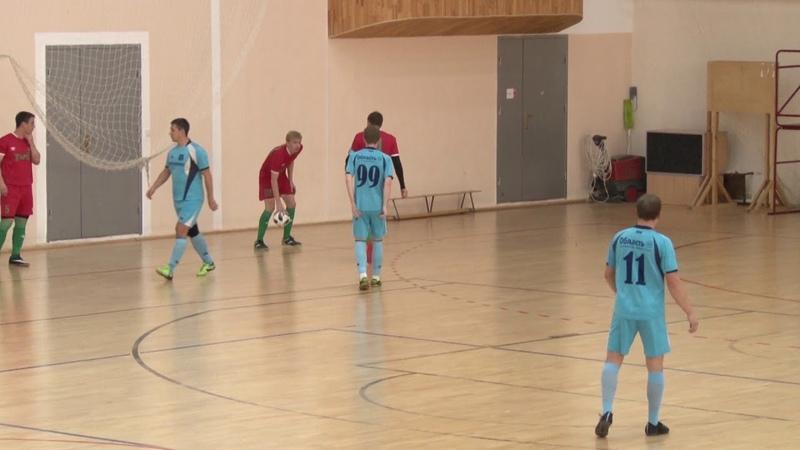 Суперкубок Курганской области по мини футболу 2018 Курганприбор - Железнодорожник