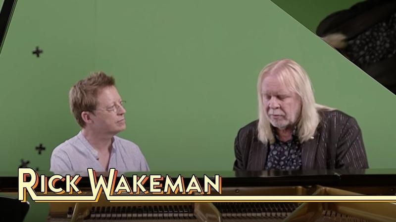 Rick Wakeman In Conversation With Simon Mayo - Strings Choir