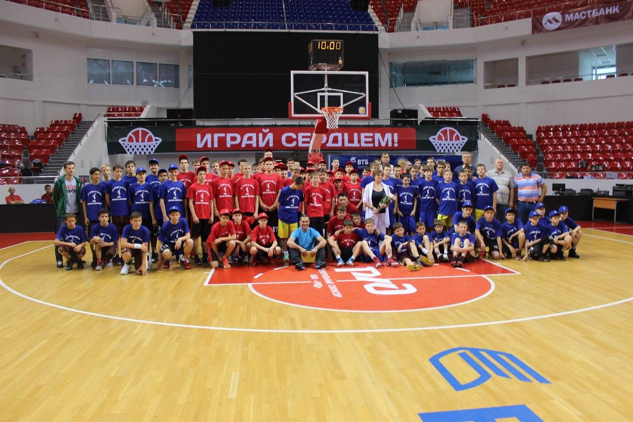 Открытый краевой турнир по баскетболу на призы Алексея Саврасенко