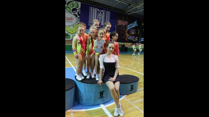 Чемпионат и первенство по спортивной аэробике г Донецка Танцевальная гимнастика
