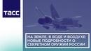 На земле, в воде и воздухе: новые подробности о секретном оружии России