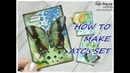 My first ever ATC's set 'Serenity' FULL video tutorial for Lindy's Stamp Gang