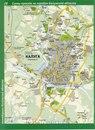 Карта города Калуга.  Карта улиц Калуги со схемой проезда автотранспорта.
