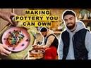 How To Make Plates Bowls...Gaz Oakley Plates!