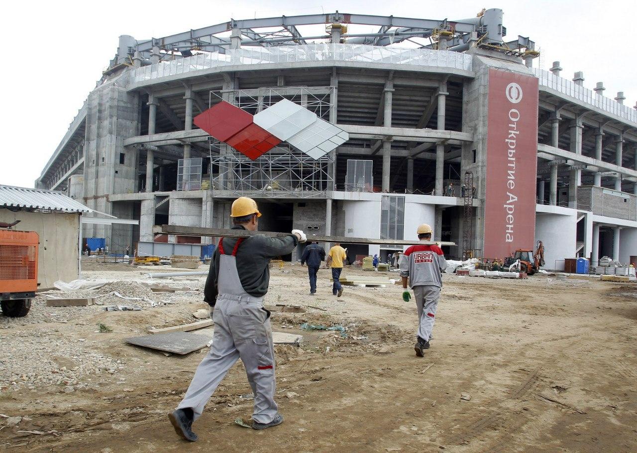 Как выглядит стадион «Спартака» прямо сейчас