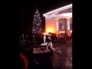 Драмтеатр. Ледяные скульптуры. Самая лучшая в мире елка. Мариуполь. 23.12.2017