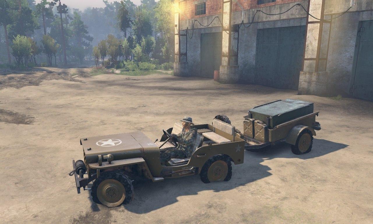 Jeep Willy 1942 для 03.03.16 для Spintires - Скриншот 3