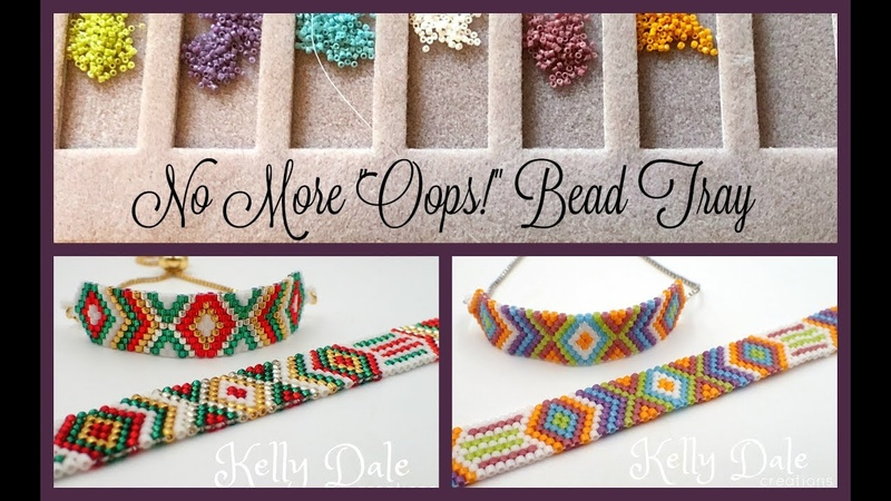 No More Oops Bead Tray Odd Count Peyote- Must Know Monday 10/15/18