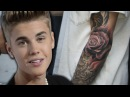 Justin Bieber Completes Sleeve with Selena Rose Tattoo?