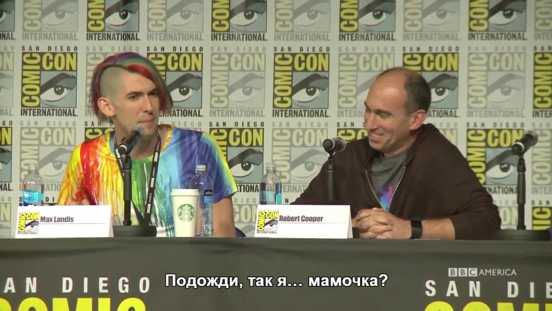 Dirk Gentlys Holistic Detective Agency FULL PANEL - San Diego Comic-Con 2016 (RUS SUB)