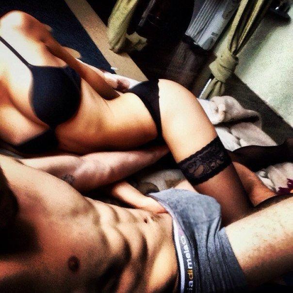 Девушка и парень сексуально
