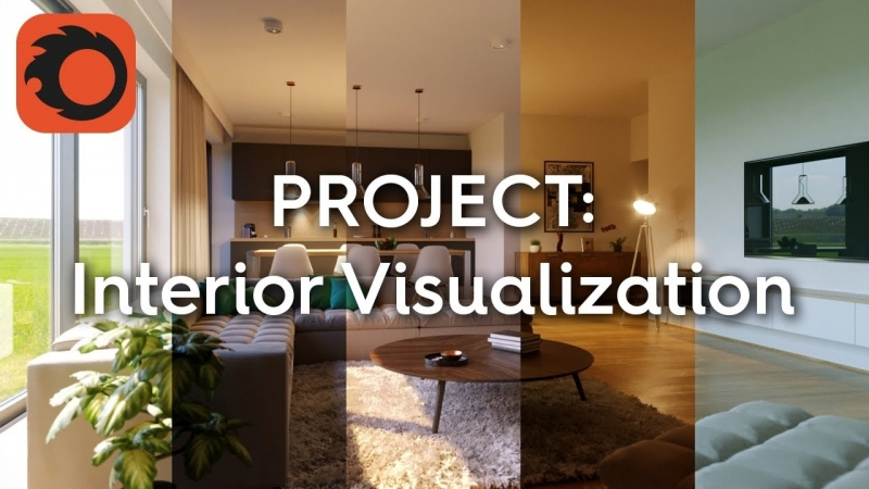 Complete Project - Interior Visualization 6-6- Post processing and LightMix