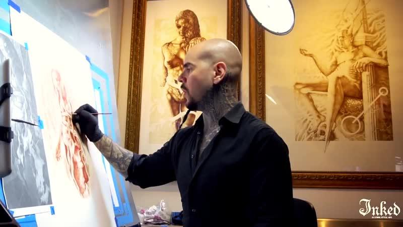 Кровавый художник Vinsent Kastilya
